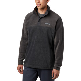 Columbia Steens Mountain Suéter Botones Clip Hombre, negro/gris